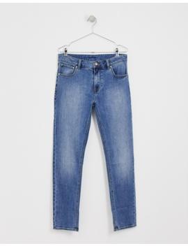 Asos Design – Enge Jeans In Klassischer Waschung by Asos