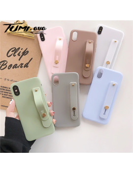 Wrist Strap Hand Band Silicone Case For Huawei P9 P10 Lite P30 Pro P8 P9 Lite 2017 Nova 3e 4e 2i 2s 2 Plus 3 4 Stand Back Cover by Ali Express.Com