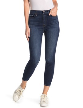 Gwenevere High Waist Cropped Ankle Jeans by 7 For All Mankind