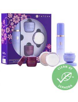 Skincare For Makeup Lovers: Dewy Glow Set by Tatcha