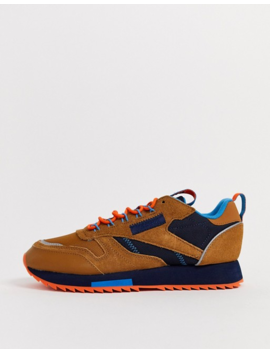 Reebok Classic Trail Shoe In Sahara by Reebok