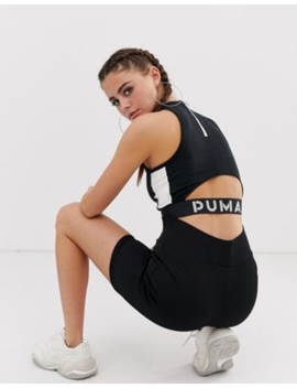 Puma Xtg Black Crop Top by Puma's