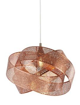 Venetian Easy Fit Lamp Shade (H23cm X W35cm) by Matalan