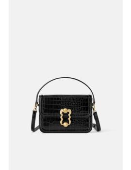 Animal Print Crossbody Belt Bag View All Bags Woman by Zara