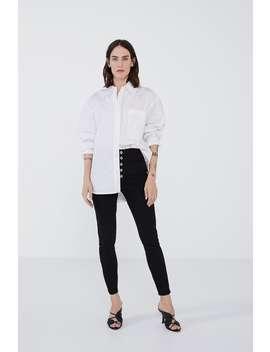 Z1975 Button Up Jeansjeans Woman by Zara