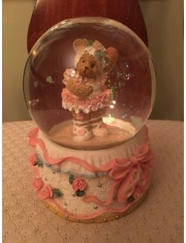 Cherished Teddies Ballet Full Size Snow Globe Ballerina Bear by Ebay Seller
