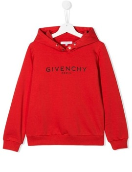 Logo Hoodie by Givenchy Kids