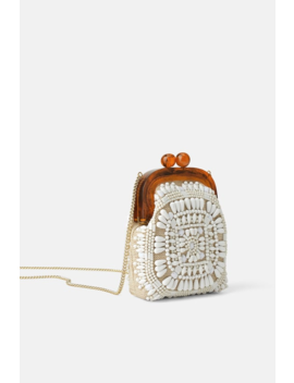 Beaded Mini Crossbody Bag With Clasp View All Bags Woman by Zara