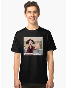 Jane Lane Middle Finger Classic T Shirt by Rhiannondowdell