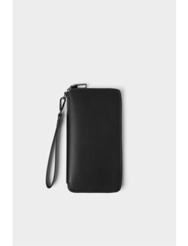 Smart Embossed Xl Wallet Clutch Bags Bags And Backpacks Man by Zara