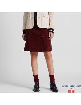 Women Ines Corduroy Mini Skirt by Uniqlo