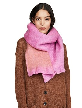 Fuzzy Woven Scarf by Kate Spade New York