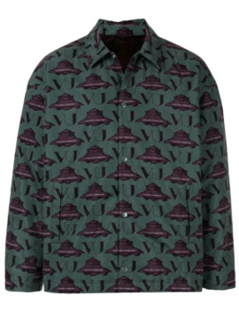 Ufo Print Jacket by Undercover