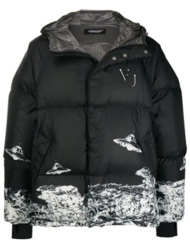 Short Padded Jacket by Undercover