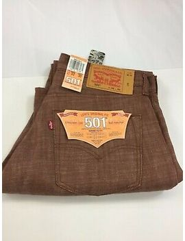 Levis 501 Original Button Fly Shrink To Fit *Note Special Instructions* by Ebay Seller
