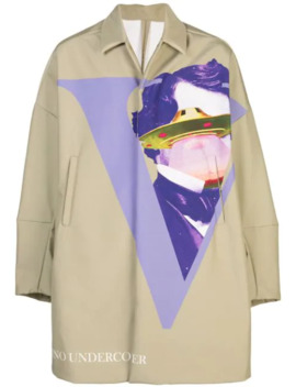 X Valentino Ufo Trench Coat by Undercover