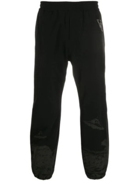 Elasticated Ufo Print Trackpants by Undercover