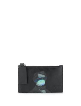 Valentino Garavani Face Ufo Wallet by Valentino
