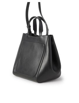 Shelby Mini Bucket Leather Bag Black by Filippa K