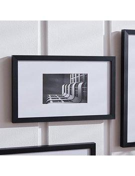 "Black Oversized Mount Frame 6"" X 4"" (15cm X 10cm) by Dunelm"