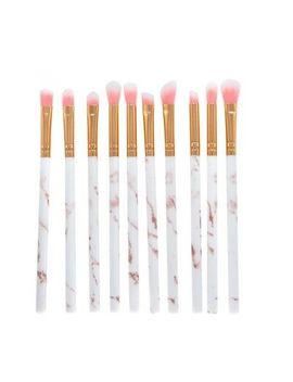 <Span><Span>10 Pcs Marble Make Up Brushes Eyeshadow Eyeliner Blending Eyebrow Brushes Set</Span></Span> by Ebay Seller