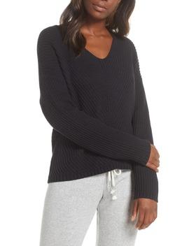Criss Diagonal Stitch Sweater by Ugg®