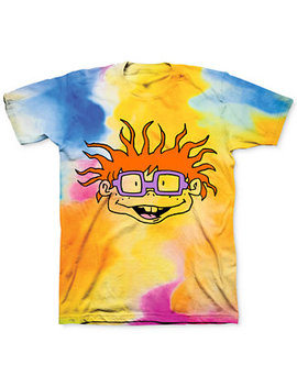 Tie Dye Rugrats Chuckie Men's Graphic T Shirt by General