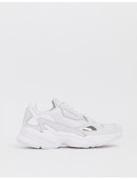 Adidas Originals – Falcon – Weiße Sneaker by Asos