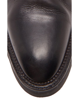 Andee Cutout Leather Ankle Boots by Alexander Wang