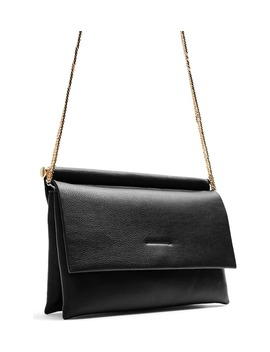 Clara Faux Leather Clutch by Topshop