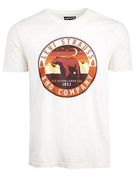 Men's Bear Logo T Shirt by General
