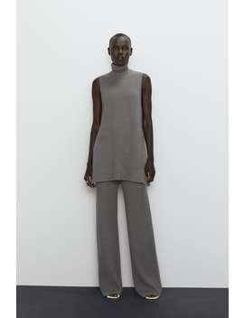 Pullover Mit Hohem Kragen Alles Anzeigen Hosen Damen by Zara