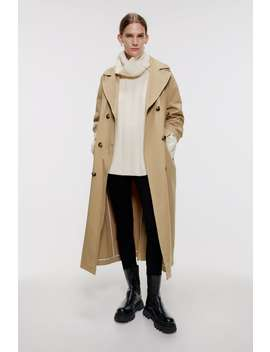 Weicher Oversize Pullover Editorial The Minimal Knitwear Damen by Zara
