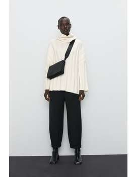 Soft Feel Oversized Sweater Collection The Minimal Knitwear Woman by Zara
