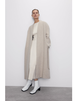 Cropped Ribbed Sweater Collection The Minimal Knitwear Woman by Zara