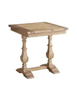 Natural Stonewash End Table by Bradding Collection