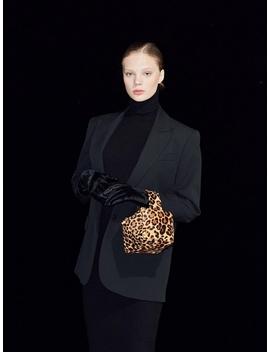 Nano Courrier Leopard All Leather by Mardi Mercredi
