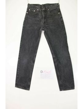 Levis 511 Slim Black (Cod.D1501) Size 44 W30 L34 Jeans Used High Waist Vintage by Levi's