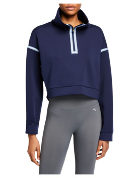 City Ready Cropped Fleece Hoodie by Nike