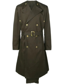 Midi Trench Coat by Hed Mayner