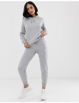 Nike Gray Essentials Hoodie by Nike