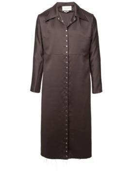 Snap Button Trench Coat by Ludovic De Saint Sernin