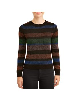 Women's Lurex Sweater by Lea & Viola