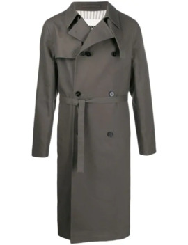Double Breasted Trench Coat by Jil Sander