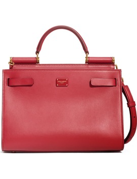 Sicily 62 Leather Satchel by Dolce&Gabbana