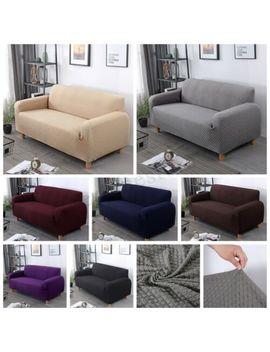 Sofa Slip Cover Stretch 1/2/3/4 Seater Throw Elastic Furniture Pet Dog by Unbranded/Generic