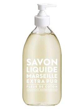 Cotton Flower Liquid Marseille Soap by Compagnie De Provence
