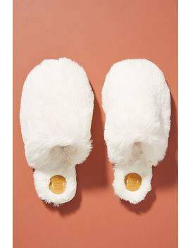 Margot Faux Fur Slippers by Anthropologie
