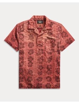 Knit Hawaiian Shirt by Ralph Lauren