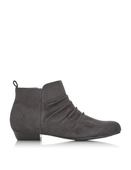 Pontina Ruched Panel Ankle Boots by Dune
